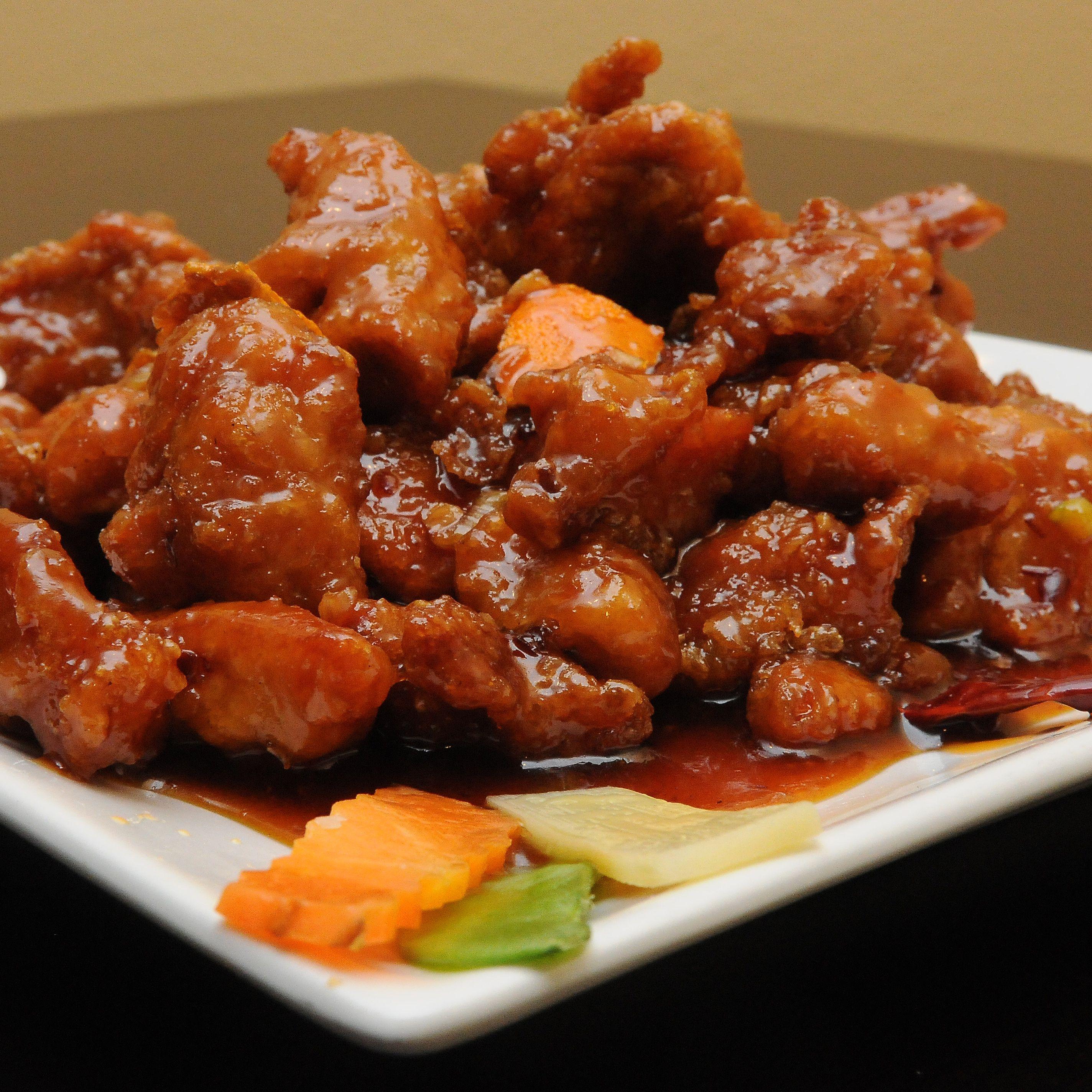 Chicken in Szechuan Sauce