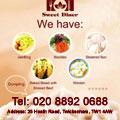 伦敦中餐小吃 煎饼果子 面条 包子 烧饼夹牛肉 云饨 水饺 豆浆